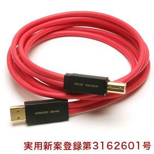 ACOUSTIC REVIVE ハイCP/USBケーブル R-AU1-PL