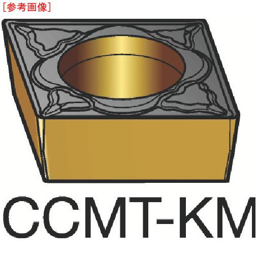 サンドビック 【10個セット】サンドビック コロターン107 旋削用ポジ・チップ H13A CCMT120408KM-3