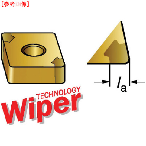 サンドビック 【5個セット】サンドビック T-Max 旋削用CBNチップ 7015 CNGA120404T0103