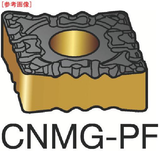 サンドビック 【10個セット】サンドビック T-Max P 旋削用ネガ・チップ 5015 CNMG120404PF-5