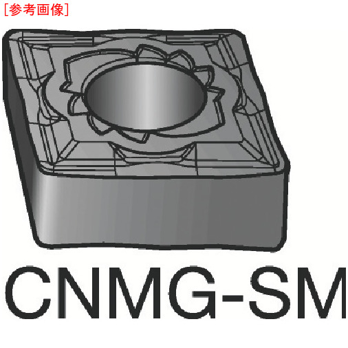 サンドビック 【10個セット】サンドビック T-Max P 旋削用ネガ・チップ 1115 CNMG120416SM-3