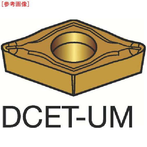 サンドビック 【10個セット】サンドビック コロターン107 旋削用ポジ・チップ 1105 DCET11T301UM-1