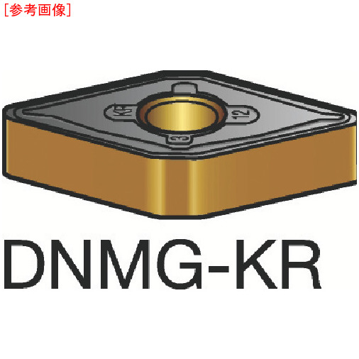 サンドビック 【10個セット】サンドビック T-Max P 旋削用ネガ・チップ 3205 DNMG150408KR-1
