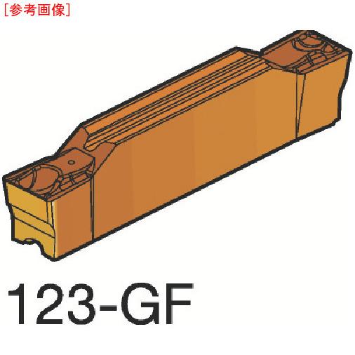 サンドビック 【10個セット】サンドビック コロカット2 突切り・溝入れチップ H13A N123F202460003G