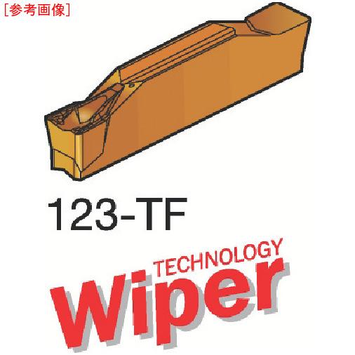 サンドビック 【10個セット】サンドビック コロカット1 突切り・溝入れチップ H13A N123H1040000-3