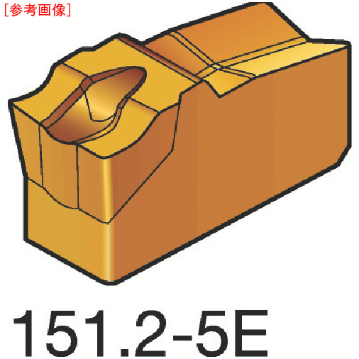 サンドビック 【10個セット】サンドビック T-Max Q-カット 突切り・溝入れチップ 4225 N151.24005E-4