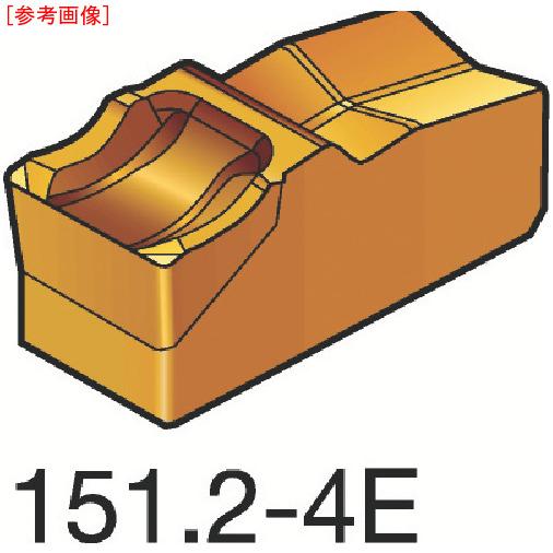 サンドビック 【10個セット】サンドビック T-Max Q-カット 突切り・溝入れチップ 4225 N151.25004E-4