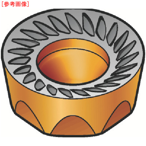 サンドビック 【10個セット】サンドビック コロミル200用チップ 3040 RCKT1204MOKH