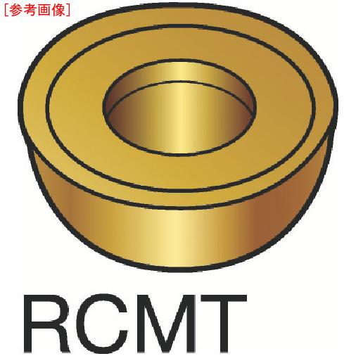 サンドビック 【10個セット】サンドビック コロターン107 旋削用ポジ・チップ H13A RCMT1606MO-2