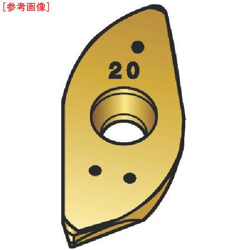 サンドビック 【10個セット】サンドビック U-Maxエンドミル用チップ SM30 R216.21703082