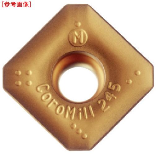 サンドビック 【10個セット】サンドビック コロミル245用チップ K20W R24518T6MKM-3