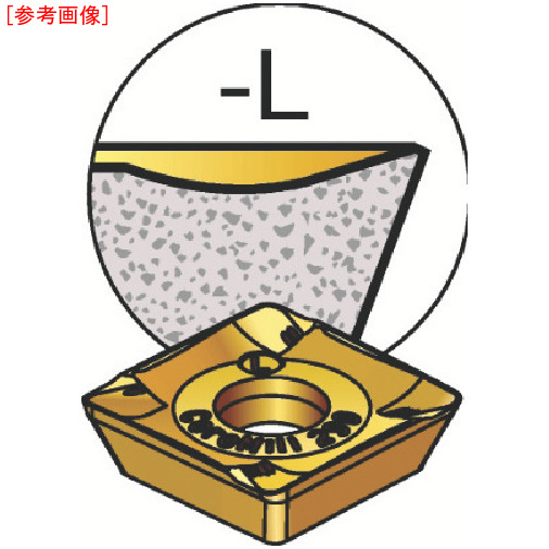 サンドビック 【10個セット】サンドビック コロミル290用チップ 3040 R29012T308MK-2