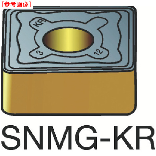 サンドビック 【10個セット】サンドビック T-Max P 旋削用ネガ・チップ 3210 SNMG150612KR-2