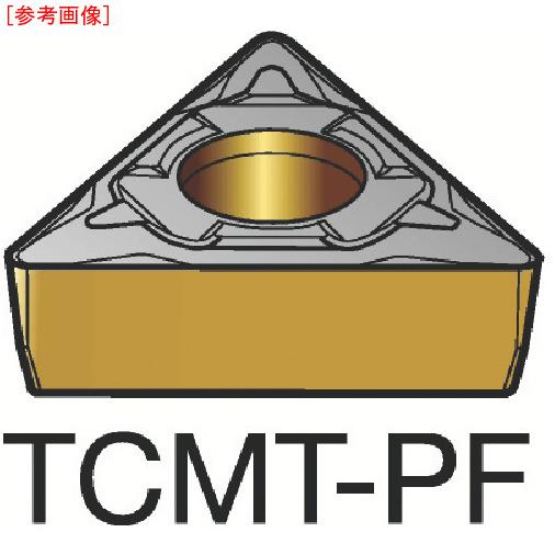 サンドビック 【10個セット】サンドビック コロターン107 旋削用ポジ・チップ 1515 TCMT110308PF-1