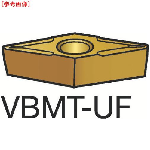 サンドビック 【10個セット】サンドビック コロターン107 旋削用ポジ・チップ 235 VBMT110202UF-3