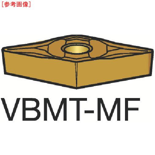 サンドビック 【10個セット】サンドビック コロターン107 旋削用ポジ・チップ 1105 VBMT110302MF-2