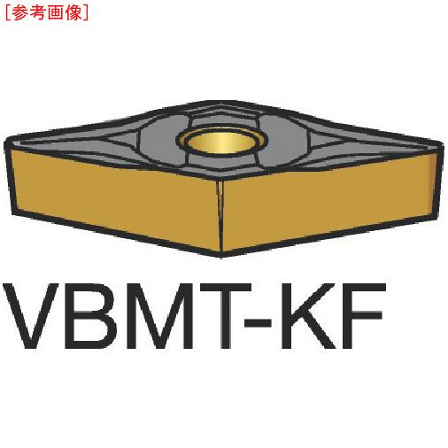 サンドビック 【10個セット】サンドビック コロターン107 旋削用ポジ・チップ H13A VBMT160408KF