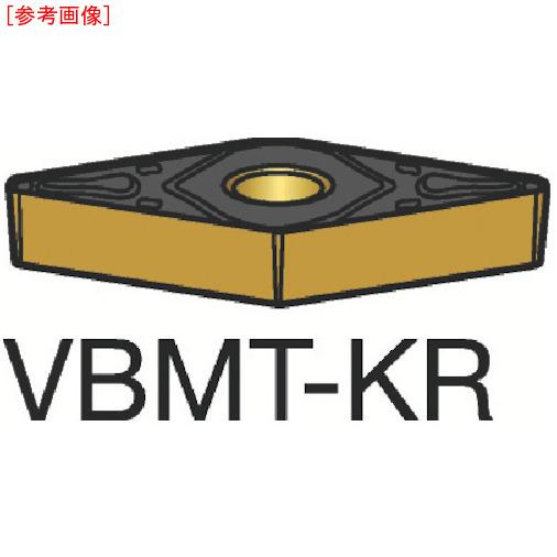 サンドビック 【10個セット】サンドビック コロターン107 旋削用ポジ・チップ 3205 VBMT160408KR-1