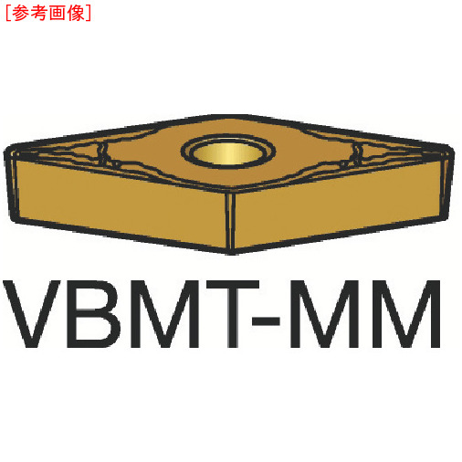 サンドビック 【10個セット】サンドビック コロターン107 旋削用ポジ・チップ 2015 VBMT160408MM-4