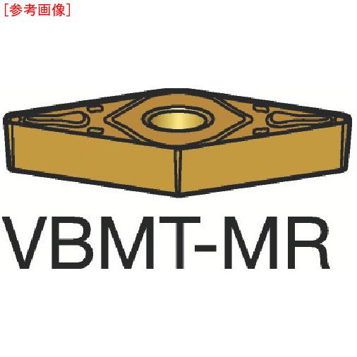 サンドビック 【10個セット】サンドビック コロターン107 旋削用ポジ・チップ 2025 VBMT160408MR-2