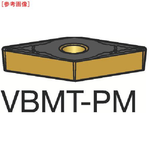 サンドビック 【10個セット】サンドビック コロターン107 旋削用ポジ・チップ 1515 VBMT160408PM-1