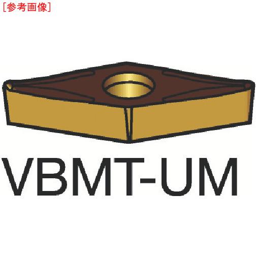 サンドビック 【10個セット】サンドビック コロターン107 旋削用ポジ・チップ 1115 VBMT160412UM