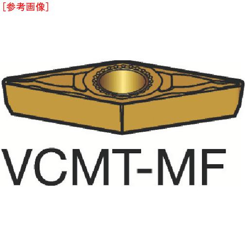 サンドビック 【10個セット】サンドビック コロターン107 旋削用ポジ・チップ 1125 VCMT110302MF