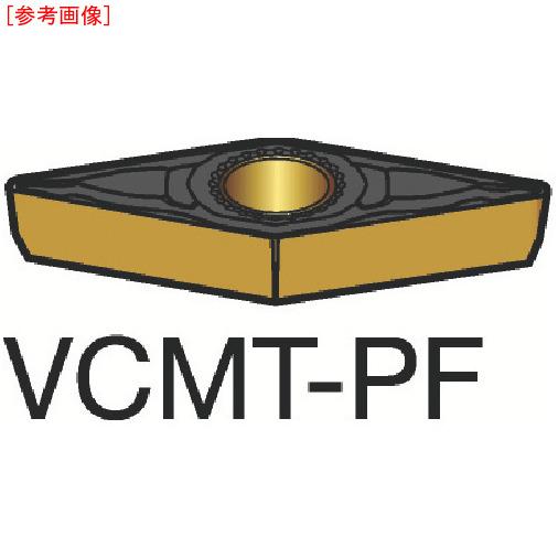 サンドビック 【10個セット】サンドビック コロターン107 旋削用ポジ・チップ 1515 VCMT110302PF
