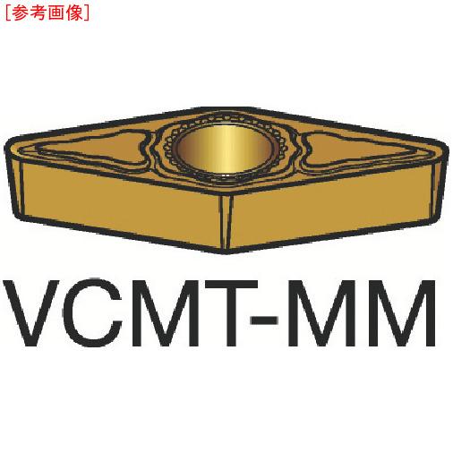 サンドビック 【10個セット】サンドビック コロターン107 旋削用ポジ・チップ 1125 VCMT110304MM