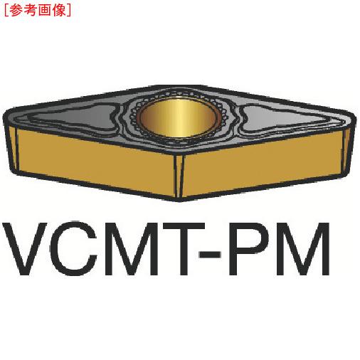 サンドビック 【10個セット】サンドビック コロターン107 旋削用ポジ・チップ 1515 VCMT110308PM-1