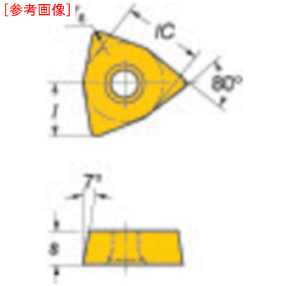 サンドビック 【10個セット】サンドビック コロマントUドリル用チップ 235 WCMX06T3SR56