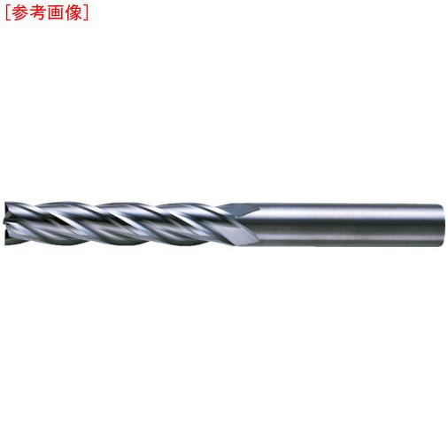 三菱マテリアルツールズ 三菱K 4枚刃超硬センタカットエンドミル(ロング刃長) ノンコート 6mm C4LCD0600