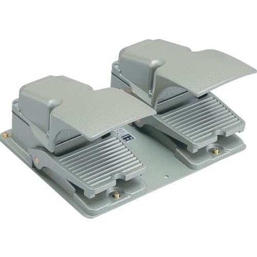 大阪自動電機 オジデン フットスイッチ 産業用防雨形・保護カバー付 定格6A-250VAC  OFL-TW-SM2C