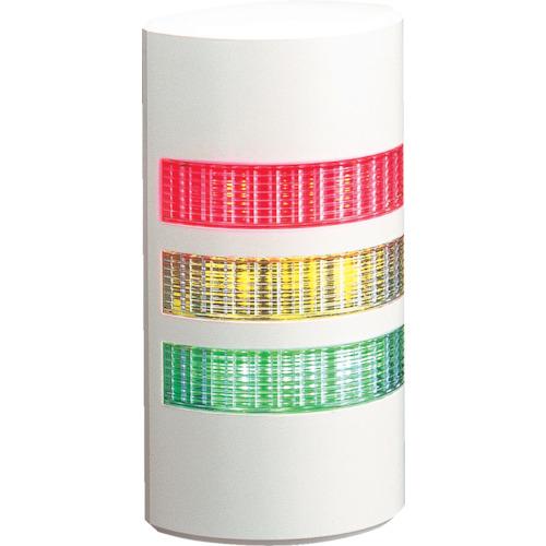 パトライト パトライト ウォールマウント薄型LED壁面 WEP-302-RYG