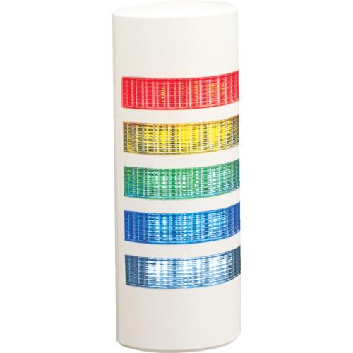 パトライト パトライト ウォールマウント薄型LED壁面 WEP-502-RYGBC
