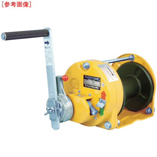 マックスプル工業 マックスプル ラチェット式手動ウインチ TN-MR-20