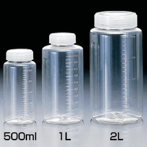 サンプラテック 【200個セット】サンプラ クリアー広口ボトル 100ml 20133056
