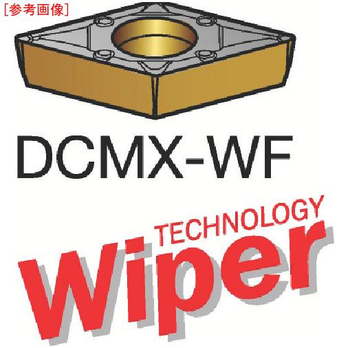 サンドビック 【10個セット】サンドビック コロターン107 旋削用ポジ・チップ 1525 DCMX11T308WF-1