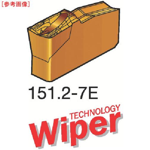 サンドビック 【10個セット】サンドビック T-Max Q-カット 突切り・溝入れチップ 1125 N151.24007E-1