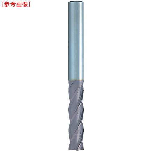 日進工具 NS 無限コーティング 4枚刃ミディアムEM MSEM430 Φ8 MSEM4308