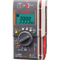 三和電気計器 SANWA ハイブリッドミニテスタ(3レンジ絶縁抵抗計+クランプ)ケース付 DG35AC DG35AC