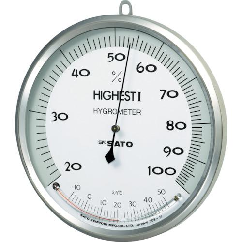 佐藤計量器製作所 佐藤 温湿度計 ハイエスト1型 754000-3011