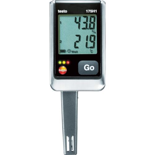 テストー テストー 温湿度ロガNTC・静電容量式内蔵2ch TESTO175H1