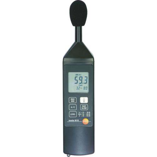 テストー テストー デジタル騒音計 TESTO815