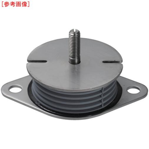 タイカ Taica 防振材 インシュレーター プレート(ゴム被覆)SUS 25~35kg SF30SUS