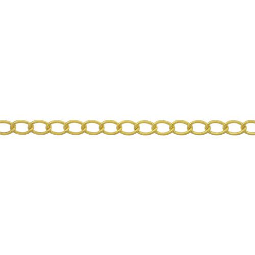 ニッサチェイン ニッサチェイン 真鍮キリンスマンテルチェイン 2.6mm×30m BM126