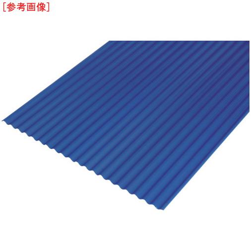 アイリスオーヤマ IRIS 硬質塩ビ波板 8尺 ナチュラルブルー NIPVC808NB