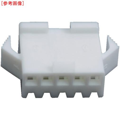 日本圧着端子製造 JST SMコネクタ用ハウジング プラグ 100個入り SMP04VNC