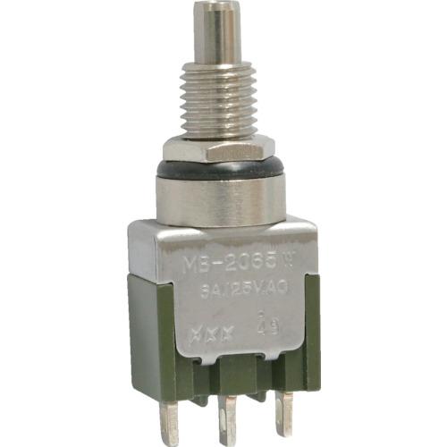 日本開閉器工業 NKKスイッチズ 防水形押ボタンスイッチ 単極ON-ON MB2065W