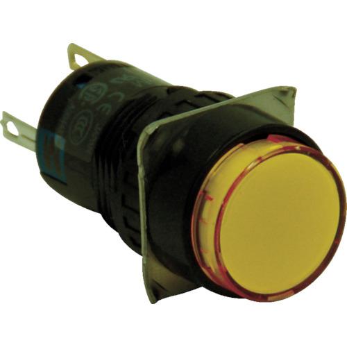 IDEC IDEC φ16丸形照光押しボタンスイッチ AL6MM14Y